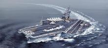 Italeri USS Kitty Hawk CV-63 5522