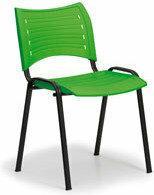 B2B Partner Plastikowe krzesła SMART - czarne nogi 150143