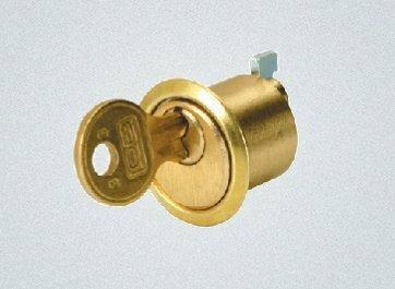 LOB Wkładka meblowa WMB1 (1189) mosiądz