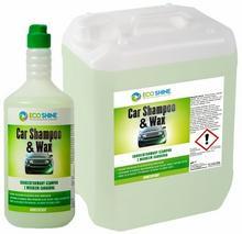 ECO SHINE CAR SHAMPOO & WAX 5L Skoncentrowany szampon do mycia samochodów z woskiem Carnauba