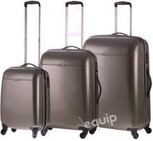 Puccini zestaw walizek PC 005 - złoty
