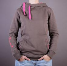 Evokaii Bluza Big Hood - kolor brązowy