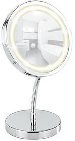 WENKO Lusterko kosmetyczne BROLO z podświetnielniem LED, powiększenie x3 3656360