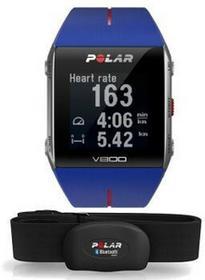 Polar V800 HR niebieski