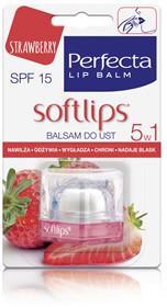 DAX Cosmetics balsam do ust truskawkowy, 6,5g