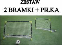 Spartan Sport Zestaw 2 x bramki + piłka 1148