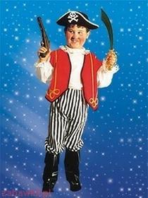 Sezamik STRÓJ karnawałowy Pirat z butami 0070