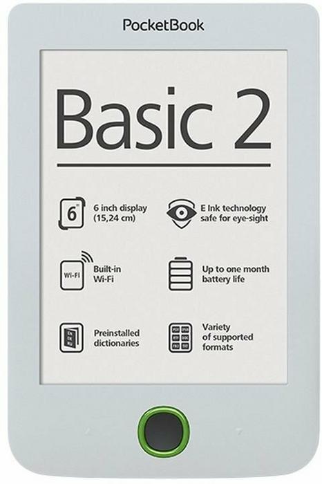 PocketBook 614 Basic 2 biały