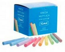 TOMA Kreda szkolna niepyląca kolorowa x100