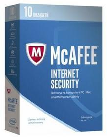 McAfee 2017 Internet Security 10 urządzeń 1 rok)
