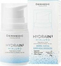 Dermedic HYDRAIN 3 Hialuro nawilżający krem na noc przeciw zmarszczkom 55g