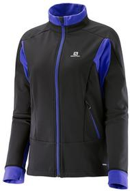 Salomon Kurtka Momentum Softshell W BlackViolet