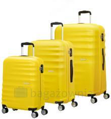 Samsonite AT by Zestaw walizek AT WAVEBREAKER 74137 Żółte - żółty