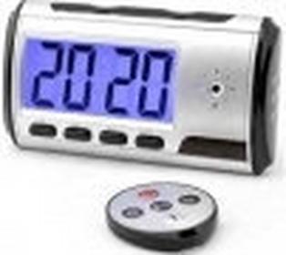 Zegar biurkowy LCD nagrywajcąy obraz+dwik (m.in. na ruch).