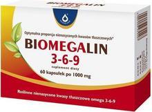 Oleofarm Biomegalin 3-6-9 1000mg 60 szt.