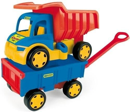 Wader Gigant Truck Wywrotka z Przyczepą 65100