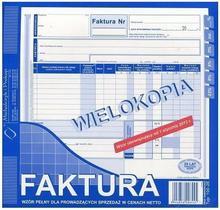 MICHALCZYK&Prokop Druk M FAKTURA 2/3 A4 WIELOKOPIA 100-2e