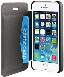 Muvit iPhone 5S/5SE Easy folio Card case Black