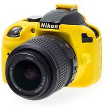 EasyCover osłona gumowa dla Nikon D3300/D3400 żółta ECND3300Y