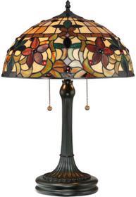 Elstead Lighting Lampa stołowa witrażowa TIFFANY KAMI QZ/KAMI/TL -