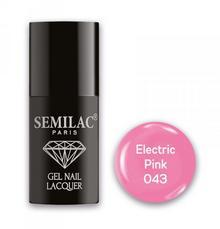Semilac Lakier hybrydowy 043 Electric Pink