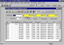 CODER WinKalk - Moduł Projektowanie tras (podstawowe obliczeia geodezyjne)