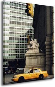 New York, światła - Obraz na płótnie