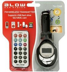 BLOW Transmiter FM SD/MMC BLACK 74-124#