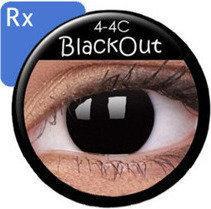 Maxvue Vision Crazy Wild Eyes RX - BlackOut 2 szt.