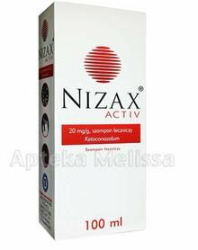 Hasco-Lek NIZAX ACTIV Szampon leczniczy - 100 ml