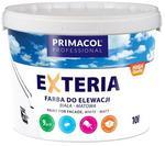 Opinie o Primacol Farba fasadowa Exteria biała 10 l