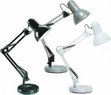 Rabalux Lampka biurkowa OPRAWA nowoczesna NA biurko SAMSON 4211/4212/4213 czarny / biały / Srebrny