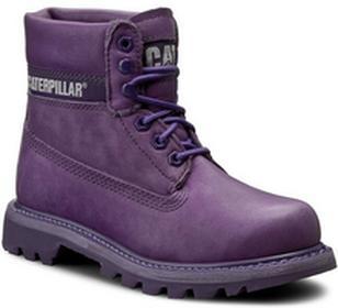 Caterpillar Trapery Colorado P308860 Purple materiał/-materiał, skóra naturalna/nubuk, skóra naturalna/licowa