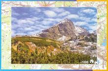 Tatry puzzle x 160 Plan