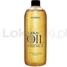 Essence Gold Oil Amber & Argan szampon bursztynowo - arganowy 1000 ml Montibello