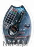SAMOCHODOWY TRANSMITER FM KARTA SD-MMC USB JACK