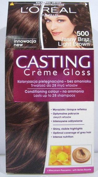 Loreal Casting Creme Gloss 500 Jasny Braz
