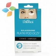 Lbiotica Płatki kolagenowe pod oczy - redukcja cieni i obrzęków 3 x 2 szt