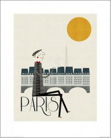 Paris, Paryż - Obraz, reprodukcja