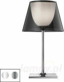 Flos nowoczesna Lampa stołowa KTRIBE T2 srebrna