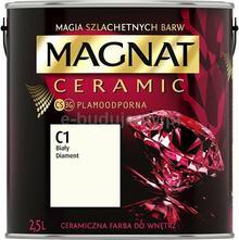 Magnat CERAMIC 2,5L - ceramiczna farba do wnętrz - C1 Biały diament