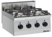 Bartscher 4-palnikowa kuchnia gazowa