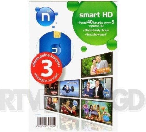 Smart nc+ Karta abonencka HD (3 miesiące)