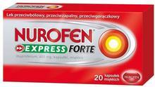 RECKITT BENCKISER (POLAND) S.A. Polska Nurofen Express Forte 20 kapsułek BLOZ7-5992618