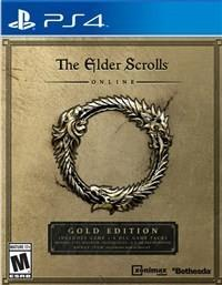 The Elder Scrolls Online Gold Edition PS4