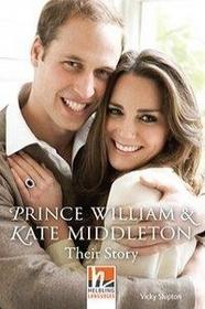 Prince William & Kate Middleton, Class Set. Level 3 (A2)