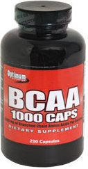 Optimum BCAA 1000 200 kaps.