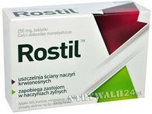 AFLOFARM FARMACJA POLSKA SP. Z O.O. Rostil 250 Mg 30 Tabletek