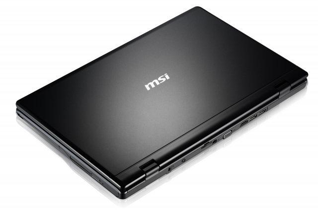 """MSI CR610-059PL 15,6"""", Athlon II 2,1GHz, 2GB RAM, 320GB HDD (CR610-059PL)"""