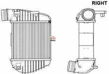 NRF Chłodnica powietrza doładowującego - intercooler 30772